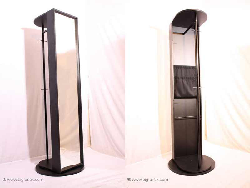 standspiegel mit garderobenstange wohn design. Black Bedroom Furniture Sets. Home Design Ideas
