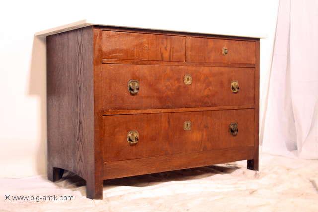 wundersch ne antiker jugendstil kommode waschtisch schubladen marmorplatte. Black Bedroom Furniture Sets. Home Design Ideas