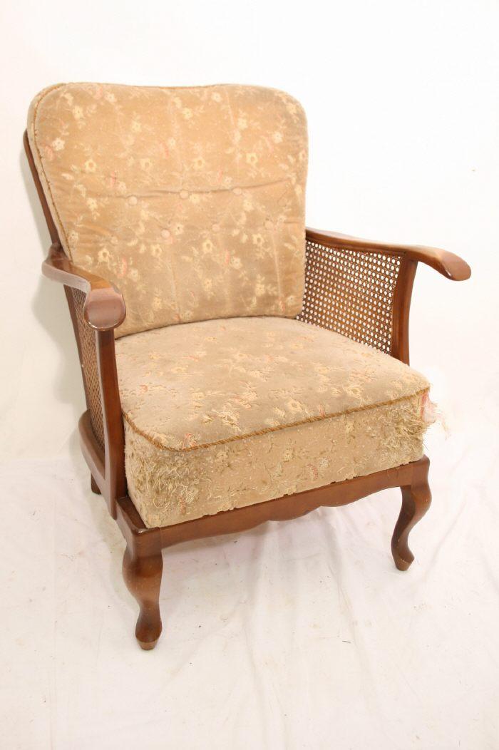 wundersch ner nostalgischer chippendale sessel nu bau ebay. Black Bedroom Furniture Sets. Home Design Ideas