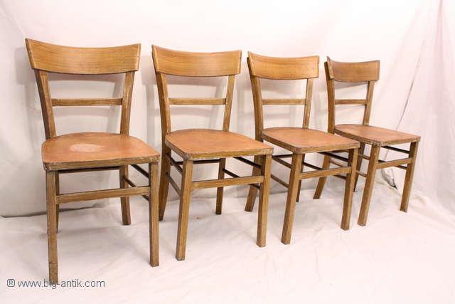 4 sch ne antike wirtshausst hle frankfurter st hle brettst hle 40er 50er. Black Bedroom Furniture Sets. Home Design Ideas