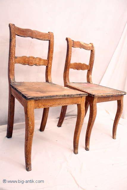 2 wunderschoene antike biedermeier stuehle holzstuehle. Black Bedroom Furniture Sets. Home Design Ideas