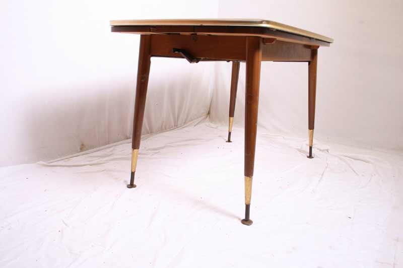 Selten k g 50er jahre kombinations tisch h he verstell ebay for Tisch 50er design