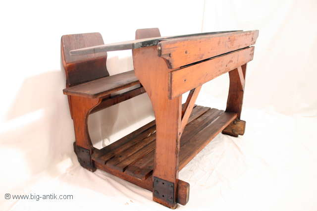 Schultisch antik  Big Antik