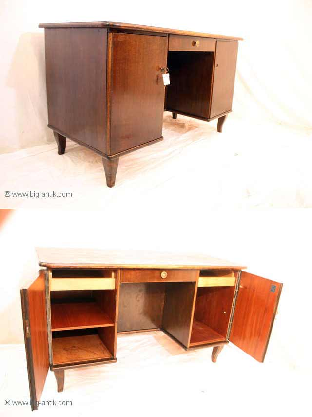 zauberhafter antiker bauhaus schreibtisch b rotisch. Black Bedroom Furniture Sets. Home Design Ideas