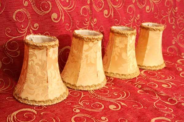 Kleine Lampenschirme Für Kronleuchter ~ Big antik