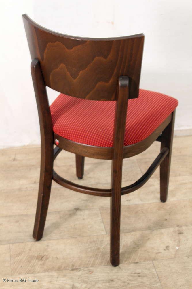 Holzstühle Küchenstühle Palisander Farbton 4 schöne Bistrostühle Polsterstühle